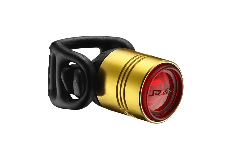 LEZYNE LED FEMTO DRIVE REAR GOLD/HI GLOSS