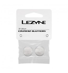 LEZYNE CR 2032 BATTERY - 2 - PACK