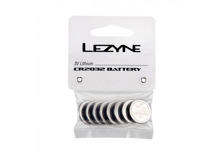 LEZYNE CR 2032 BATTERY - 8 - PACK