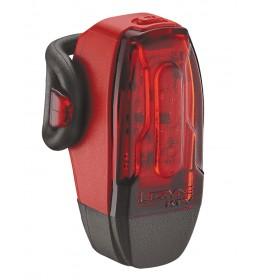 LEZYNE LED KTV DRIVE REAR 7 LM RED