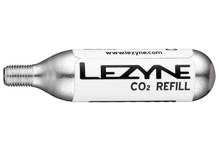LEZYNE 16G - 5 PACK SILVER