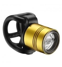 LEZYNE LED FEMTO DRIVE FRONT GOLD/HI GLOSS
