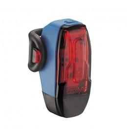 LEZYNE LED KTV DRIVE REAR 10 LM BLUE