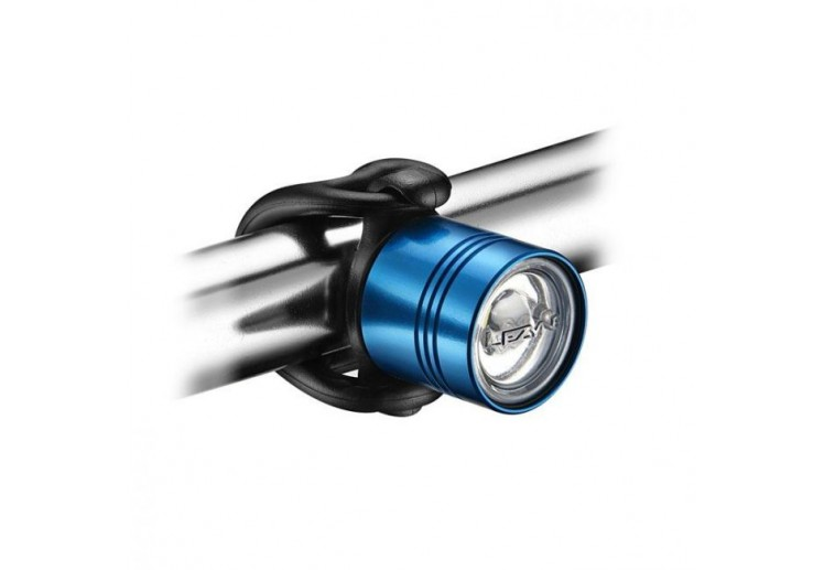 LEZYNE LED FEMTO DRIVE FRONT BLUE/HI GLOSS