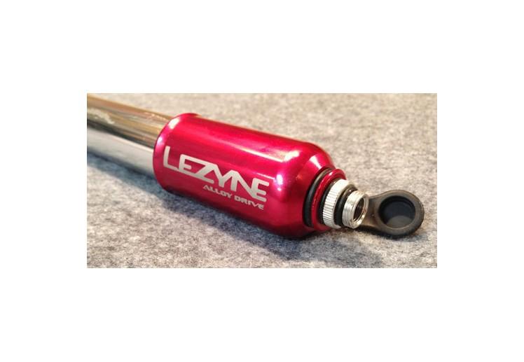 LEZYNE PRESSURE DRIVE - S RED/HI GLOSS