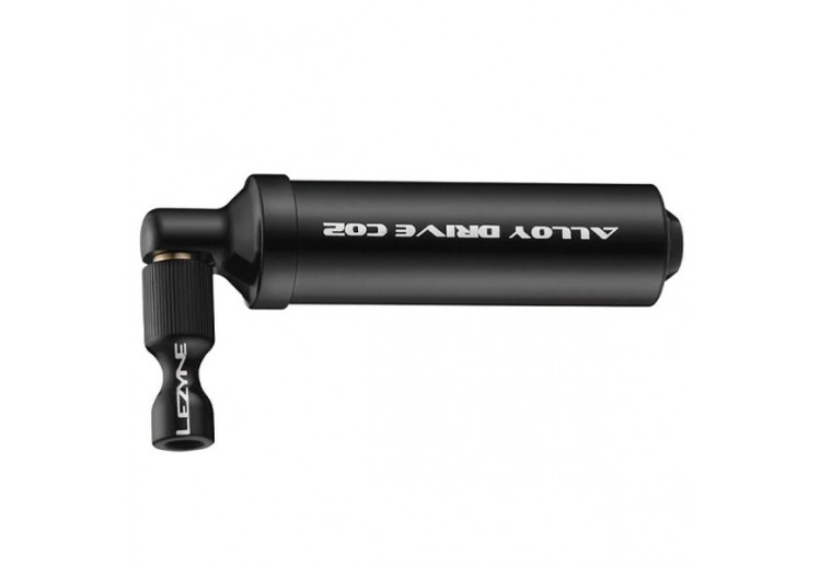 LEZYNE ALLOY DRIVE CO2 BLACK/HI GLOSS