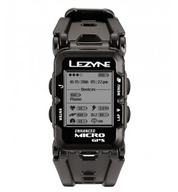 LEZYNE GPS WATCH HR BLACK