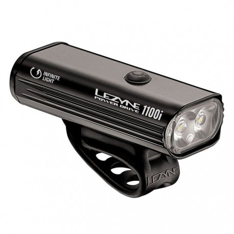 LEZYNE POWER DRIVE 1100I BLACK/HI GLOSS