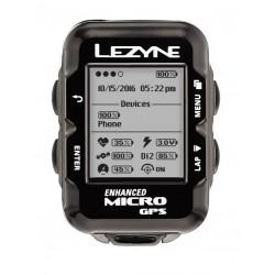 LEZYNE MICRO GPS BLACK