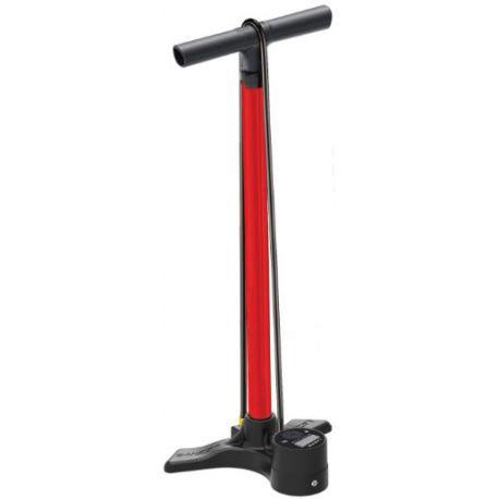 Lezyne Macro Floor Drive Digital ABS-1 rood