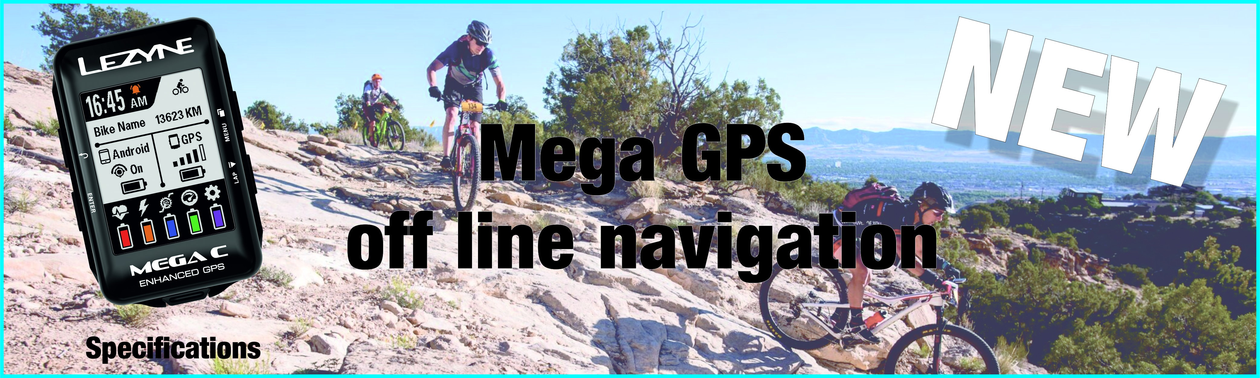 Our new MEGA GPS